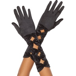 Bow Gloves by Spirit Halloween found on Bargain Bro from SpiritHalloween.com for USD $7.59