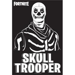 Fortnite Skull Trooper Poster - Fortnite by Spirit Halloween