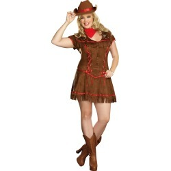 Adult Giddy Up Cowgirl Plus Size Costume by Spirit Halloween