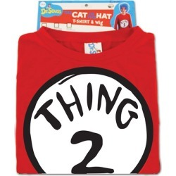 Thing 2 Costume Kit - Dr. Seuss by Spirit Halloween