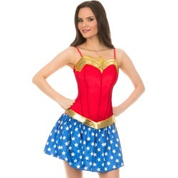 Adult Wonder Woman Corset - DC Comics by Spirit Halloween found on Bargain Bro India from SpiritHalloween.com for $29.99