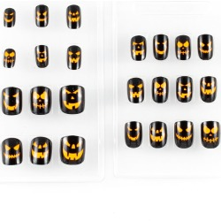Pumpkin Press On Nails by Spirit Halloween found on Bargain Bro India from SpiritHalloween.com for $4.99