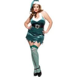 Christmas Elf Womens Plus Costume by Spirit Halloween