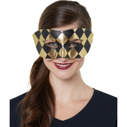 Black and Gold Checkered Costume Accessory by Spirit Halloween found on Bargain Bro India from SpiritHalloween.com for $7.99