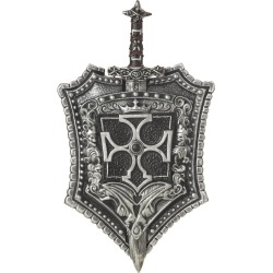Crusader Shield and Sword by Spirit Halloween