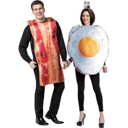 Men's Bacon and Egg Couples Costume by Spirit Halloween