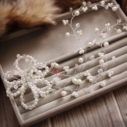 Flower-Shaped Pearl Bridal Wedding Hair Flower found on Bargain Bro India from TideBuy International for $18.00