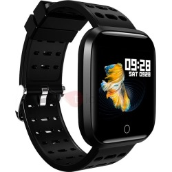 Q8 Smart Watch Heart Rate Monitor Screen Brightness Adjustable Fitness Tracker for Cyber Monday