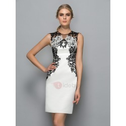 Elegant Straps Lace Appliques Column Formal Dress found on MODAPINS from TideBuy International for USD $385.00