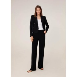 Flowy palazzo trousers found on Bargain Bro UK from MANGO