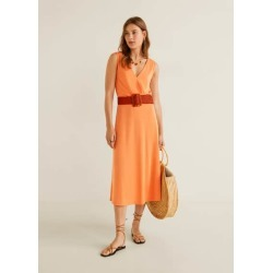 Midi modal dress found on MODAPINS from MANGO for USD $22.53