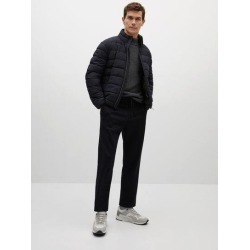 Ultra-light quilted coat found on Bargain Bro UK from MANGO