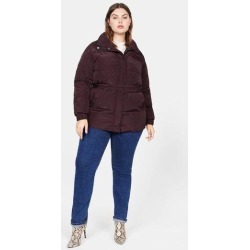 Belt quilted coat found on Bargain Bro UK from MANGO