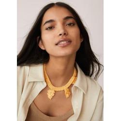 Crochet necklace found on Bargain Bro UK from MANGO