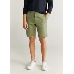 Pockets cotton Bermuda shorts found on Bargain Bro UK from MANGO