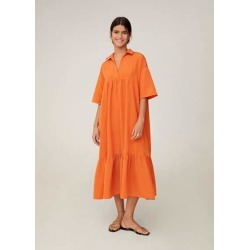 Midi shirt dress found on MODAPINS from MANGO for USD $75.14