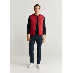 Water-repellent quilted gilet found on Bargain Bro UK from MANGO