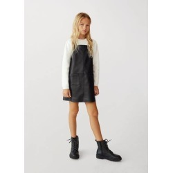 Shift pinafore dress found on MODAPINS from MANGO for USD $26.83
