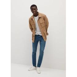 Skinny overcast wash Jude jeans found on Bargain Bro UK from MANGO