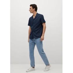 Regular fit lyocell cotton shirt found on Bargain Bro UK from MANGO