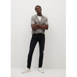 Skinny-fit light grey Jude jeans found on Bargain Bro UK from MANGO