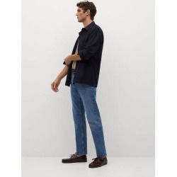 Regular-fit woollen overshirt found on Bargain Bro UK from MANGO