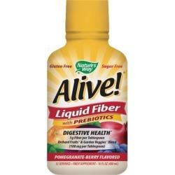 Alive! Liquid Fiber with Prebiotics Pomegranate-Berry 16 fl oz by Nature's Way