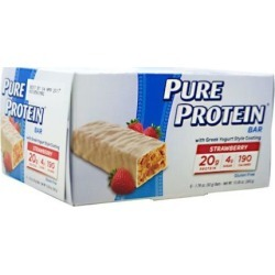 PURE PROTEIN BAR Strawberry 1.76 oz/6 Bars by Pure Protein