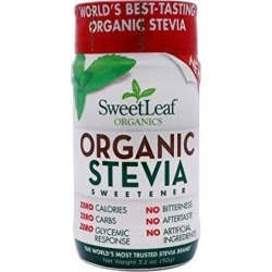 Organic Stevia Sweetener 3.2 oz by Wisdom Natural