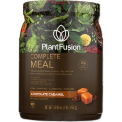 Phood 100% Whole Food Meal Shake Chocolate Caramel 15.9 oz by PlantFusion
