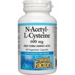 N-Acetyl-L-Cysteine 60 Veg Caps by Natural Factors