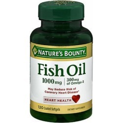 Nature's Bounty Omega-3 Fish Oil Odorless 100 caps by Nature's Bounty