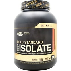 Gold Standard 100% Isolate Strawberry Cream 3 lbs by Optimum Nutrition