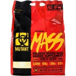 Muscle Mass Gainer Triple Chocolate 15 lbs by Mutant