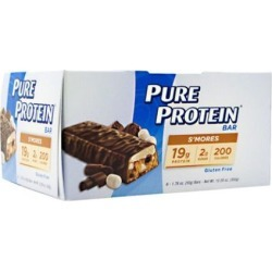 PURE PROTEIN BAR Smores 1.76 oz/6 Bars by Pure Protein