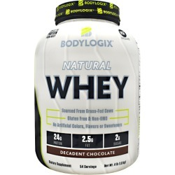 Natural Whey Protein Vanilla 4 lbs by Bodylogix