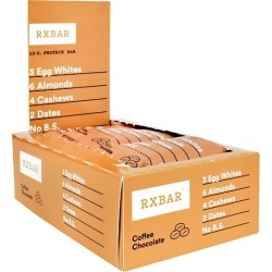 Protein Bar Coffee Chocolate 12 Bars by Rx Bar