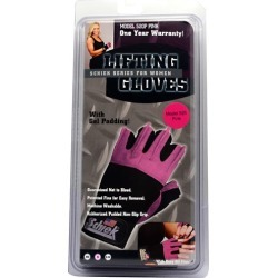 Women Lifting Gloves Pink X-Small 1 Each by Schiek