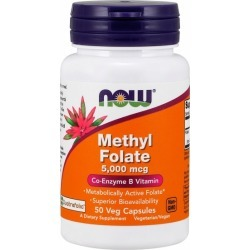 Methyl Folate 50 Veg Caps by Now Foods