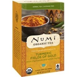 Turmeric Tea Fields of Gold 12 Bags by Numi Tea found on Bargain Bro from Herbs Pro for USD $4.37