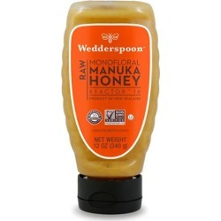 Raw Manuka Honey Kfactor 16 12 Oz by Wedderspoon Organic