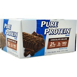 PURE PROTEIN BAR Chocolate Deluxe 1.76 oz/6 Bars by Pure Protein