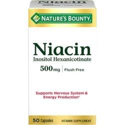 Natures Bounty Flush Free Niacin Flush Free 24 X 50 Caps by Nature's Bounty
