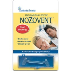 Nozovent Anti-Snoring Device 1 ct by Scandinavian Formulas found on Bargain Bro from Herbs Pro for USD $5.92