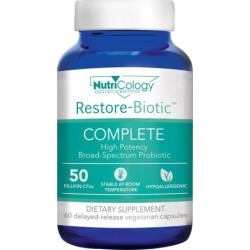 Restore-Biotic Complete 60 Veg Caps by Nutricology/ Allergy Research Group