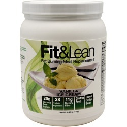 Fit & Lean Fat Burning Meal Replacement Chocolate 1 lbs by Maximum Human Performance