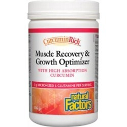 CurcuminRich Muscle Recovery & Growth Curcumizer 10.8 Oz by Natural Factors