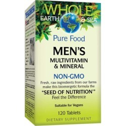 Mens Multivitamin & Mineral 120 Tabs by Natural Factors