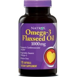 Flax Seed Oil 120 Caps by Natrol
