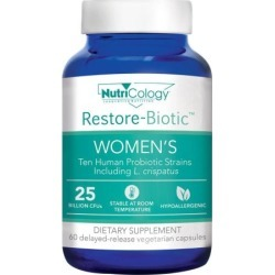 Restore-Biotic Women's 60 Veg Caps by Nutricology/ Allergy Research Group
